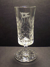 White Star Line, RMS Titanic, Hand Cut Sherry Schooner Glass, 1912 Style Replica