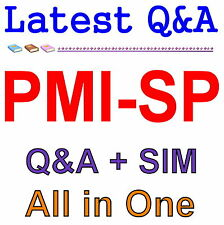 PMI Scheduling Professional Practice Test PMI-SP Exam Q&A PDF+SIM