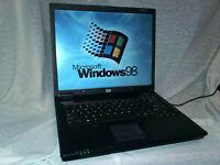 Windows 98 SE DOS Laptop Computer PC Pentium 4 M, FAST Gaming, Industrial & More