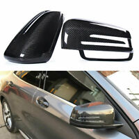 Mercedes A C E CLA GLA Carbon Fiber Wing Mirror Covers W176 W204 W212 W117 W156