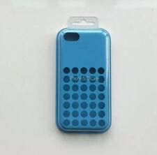 Genuine Apple iPhone 5C Silicone Dot Case - Blue