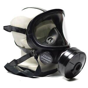 Modern gas mask Fernez Willson Sperian full face protection respirator black NEW