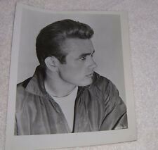 James Dean Glossy B&W headshot beautiful profile pic. black and white photo 8x10