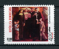 Dominican Rep 2017 MNH Vincentian Charism 400 Yrs 1v Set Art Religion Stamps