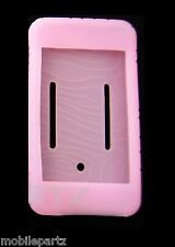 Pink Silicone Skin Gel Case for the Apple iPod Touch 1st Generation / 1G