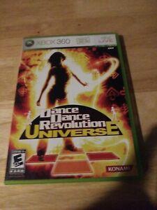 Dance Dance Revolution: Universe (Microsoft Xbox 360, 2007)