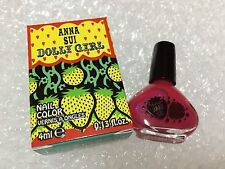 Anna Sui Dolly Girl Nail Color 322 Limited Edition 4ml Made in Japan CUTE