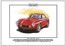 Ferrari 250GT kurzer Radstand' 59-64 Kunstdruck A4 Größe - Stirling Moss Tourist