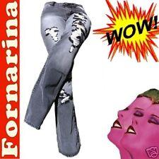 FORNARINA Destroy ROCK★STAR Jeans 28/34 27♥NEUF♥T.36/38