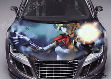 Anime Full Color Graphics Adhesive Vinyl Sticker Fit any Car Hood #123
