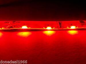 RED PC MODDING MOBO BACKLIGHT CASE LIGHT LED STRIP MOLEX SINGLE 20CM STRIP