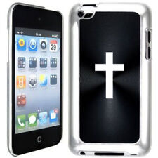 Black Apple iPod Touch 4th Generation 4g Hard Case Cover B308 Cross