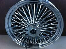 "FAT SPOKE 16"" FRONT WHEEL CHROME 16 X 3.5 HARLEY FLHT ELECTRA GLIDE FLHTC ULTRA"