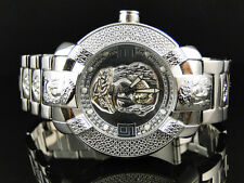 Mens Aqua Master Jojo Jojino Joe Rodeo Jesus Face 45 mm Diamond Watch 96-4 W#96