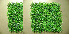 12 ARTIFICIAL IN OUTDOOR UV BOXWOOD MAT WALL PATIO HEDGE DECK GRASS FAKE FENCE