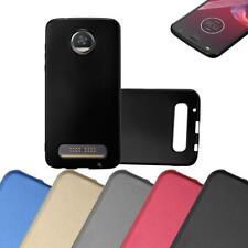 Schutz Hülle für Motorola MOTO Z2 PLAY Handy Cover Case TPU Matt Metallic Bumper