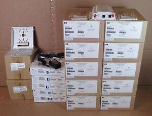 10x HP ProCurve MSM325 Wireless Access Point PoE J9373B + Brackets & AC Adapters