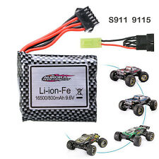 1xReplacement 9.6V 800mah Battery For GP 9115 S911 RC Monster Truck Rechargeable
