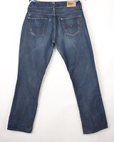 Tommy Hilfiger Hommes DASH Slim Jeans Jambe Droite Taille W33 L32 BDZ294
