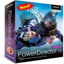 CyberLink PowerDirector Ultimate 18 🔥 liftime License Key 🔥 Fast Delivery ✅