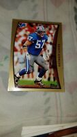 Stephen Boyd Detroit Lions Gold Border 1998 Topps Cards Ungraded