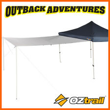 OZTRAIL GAZEBO 3M MULTI-PURPOSE WALL AWNING WHITE SUIT 3 METRE MARQUEE