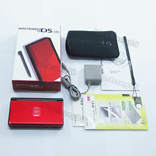Black Red Nintendo DS Lite HandHeld console System+gift