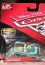 Cars 3 HERB CURBLER racer FAUX WEEL Mattel Disney Pixar  Soddisfatti o rimborsat