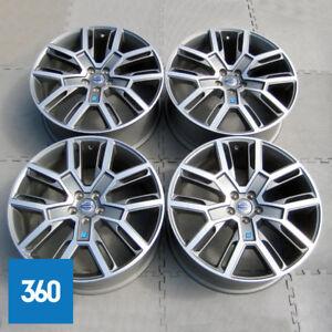 """NEW GENUINE VOLVO 21"""" XC60 POLESTAR PERFORMANCE ALLOY WHEELS SET 31408013"""