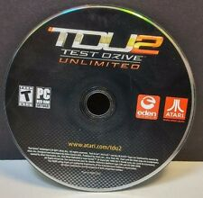 Test Drive Unlimited 2 (PC, 2011) DISC ONLY