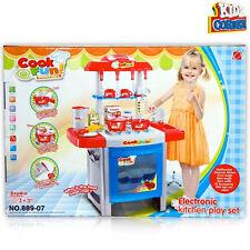Cucina Elettronica per bambine con luci suoni set 25 Accessori Giochi giocattolo