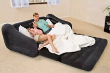 Intex Inflatable 2 Seater Pull Put Sofa Bed - Black. Brand New
