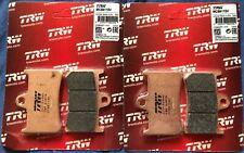 2 X TRW Lucas Bremsbeläge vorn MCB611SV Yamaha YZF R1 Bj.1998-2006 RN01-04-09-12