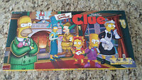 Clue Game - The Simpsons 1st Edition #01 - 2000 Parker Brothers - Super Clean!