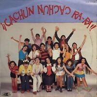 Cachun Cachun Ra-Ra!! Latin Pop Rock 1981 Musical Soundtrack Luis de Llano lp