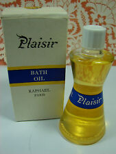 Vtg. RAPHAEL PLAISIR Bath Oil and Perfume 30ml 1 Oz  NIB Ultra Rare!