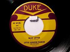 Little Jr. Parker  Set of 4 Duke Early Singles 309,341,364,371 Excellent Copies!