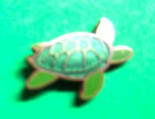 """Vintage Green Sea Turtle Tie Tac Lapel Scatter Pin Approx 1/2"""" (P158)"""