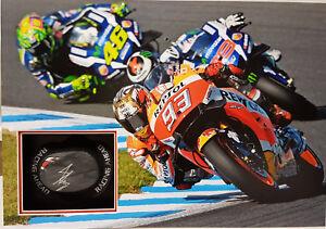 "MARC MÁRQUEZ Signed 24""x17"" KNEE SLIDER Display WORLD MOTO GP Champion COA"