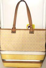 Nine West   Tote Bag    Large   White, Cream, Yellow