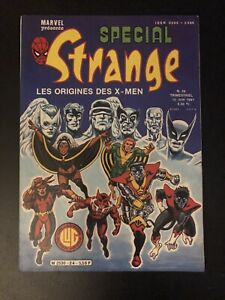 SPECIAL STRANGE #24 JUNE 1981 LUG JEAN FRISANO FRENCH GIANT SIZE X-MEN #1