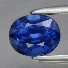Attractive! 0.64ct 5.3x4.4mm VS Oval Natural Unheated Blue Sapphire, Nigeria