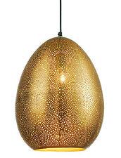 Pendelleuchte Metall goldfarben Ornamente HEINE Home 198642