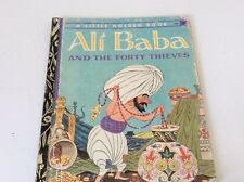 LITTLE GOLDEN BOOK.OLD.ALI BABA AND THE FORTY THIEVES.1971