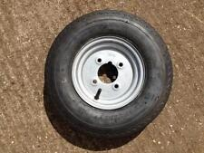 """8"""" Trailer Wheel and Tyre 4.80/4.00-8 4 stud 101.6 pcd"""