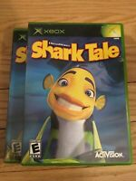SHARK TALE - XBOX - COMPLETE WITH MANUAL - FREE S/H - (Y)