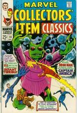 Marvel Collectors' Item Classics # 18 (FF / Iron Man, 68pgs.) (USA, 1968)