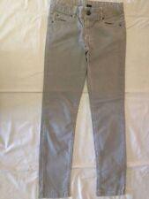 Kids - Pantaloni - colore grigio - taglia 7/8 anni - 128 cm - 98% cotone 2% elas