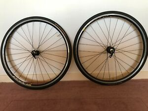 Mavic bike wheels with Chris King hubs