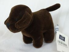 """BABY GAP - CHOCOLATE BROWN 5"""" DOG with $8.50 TAG  NWT MWMT"""